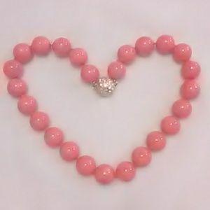Jewelry - Coral Beaded Choker